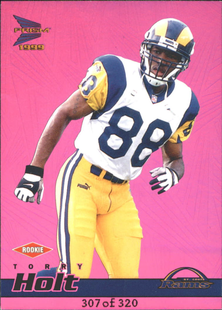1999 Pacific Prisms Holographic Purple #121 Torry Holt