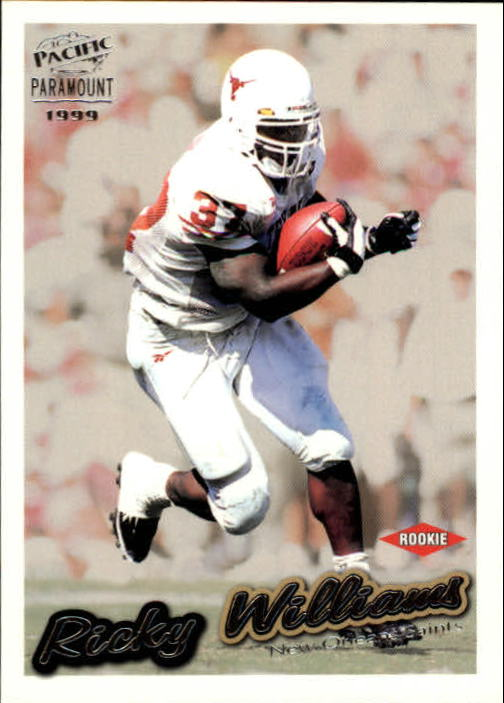 1999 Paramount #154 Ricky Williams RC