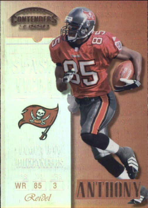1999 Playoff Contenders SSD #16 Reidel Anthony