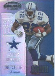 1999 Playoff Contenders SSD #42 Emmitt Smith