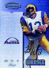 1999 Playoff Contenders SSD #146 Kurt Warner AU/1825* RC