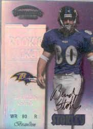 1999 Playoff Contenders SSD #148 Brandon Stokley AU/1325* RC