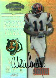 1999 Playoff Contenders SSD #157 Akili Smith AU/1025* RC