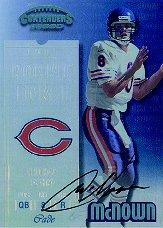 1999 Playoff Contenders SSD #168 Cade McNown AU/1025* RC