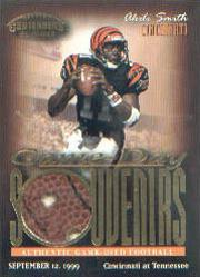 1999 Playoff Contenders SSD Game Day Souvenirs #GS4 Akili Smith