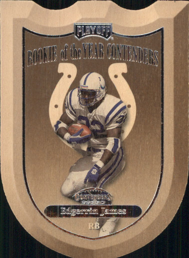 1999 Playoff Contenders SSD ROY Contenders #6 Edgerrin James