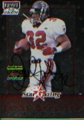 1999 Playoff Momentum SSD Star Gazing #SG8 Jamal Anderson AU