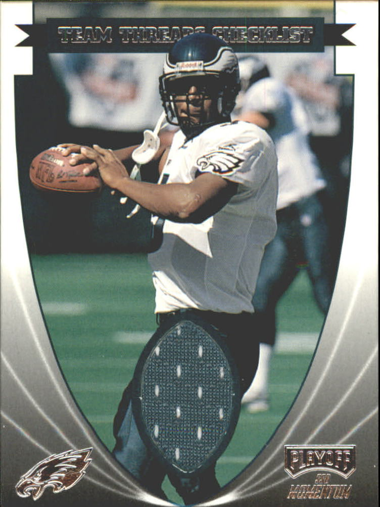 1999 Playoff Momentum SSD Team Thread Checklists #TTC20 Donovan McNabb