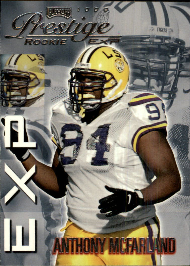 1999 Playoff Prestige EXP #1 Anthony McFarland RC