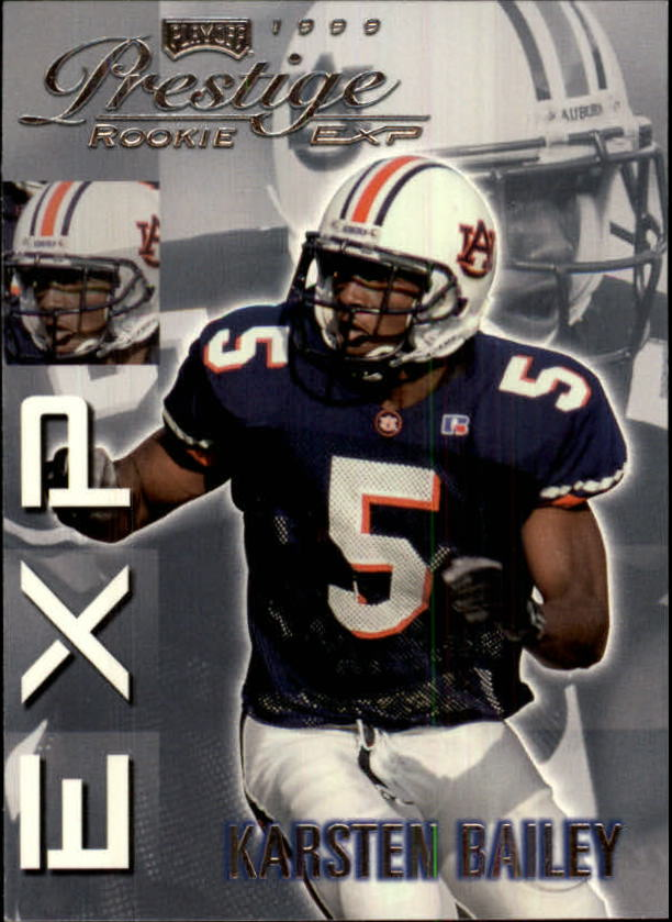 1999 Playoff Prestige EXP #8 Karsten Bailey RC