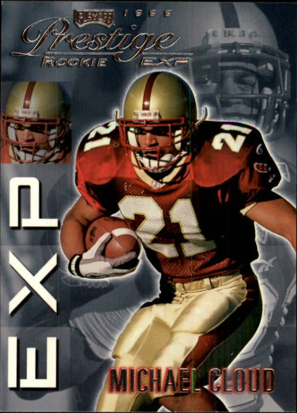 1999 Playoff Prestige EXP #9 Mike Cloud RC