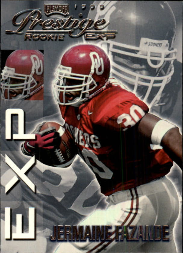 1999 Playoff Prestige EXP #12 Jermaine Fazande RC