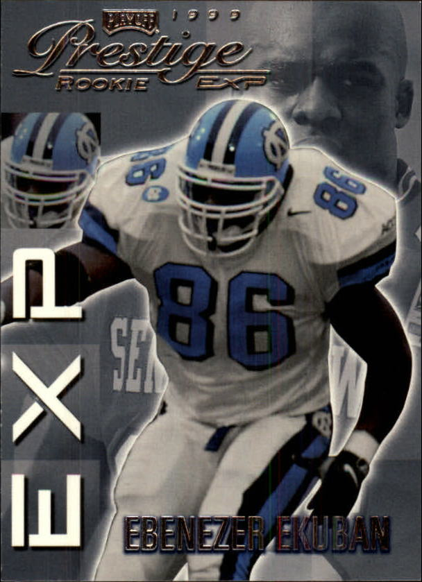 1999 Playoff Prestige EXP #13 Ebenezer Ekuban RC