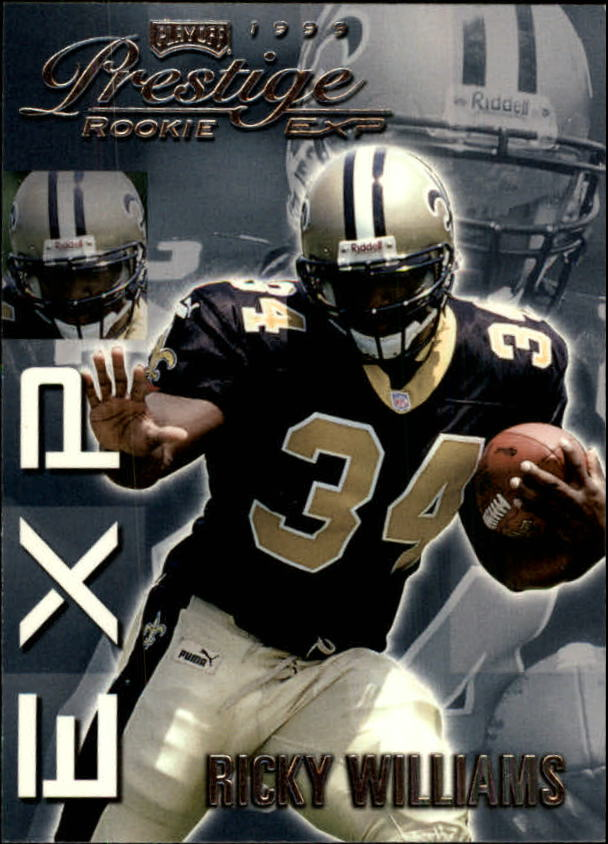 1999 Playoff Prestige EXP #39 Ricky Williams RC