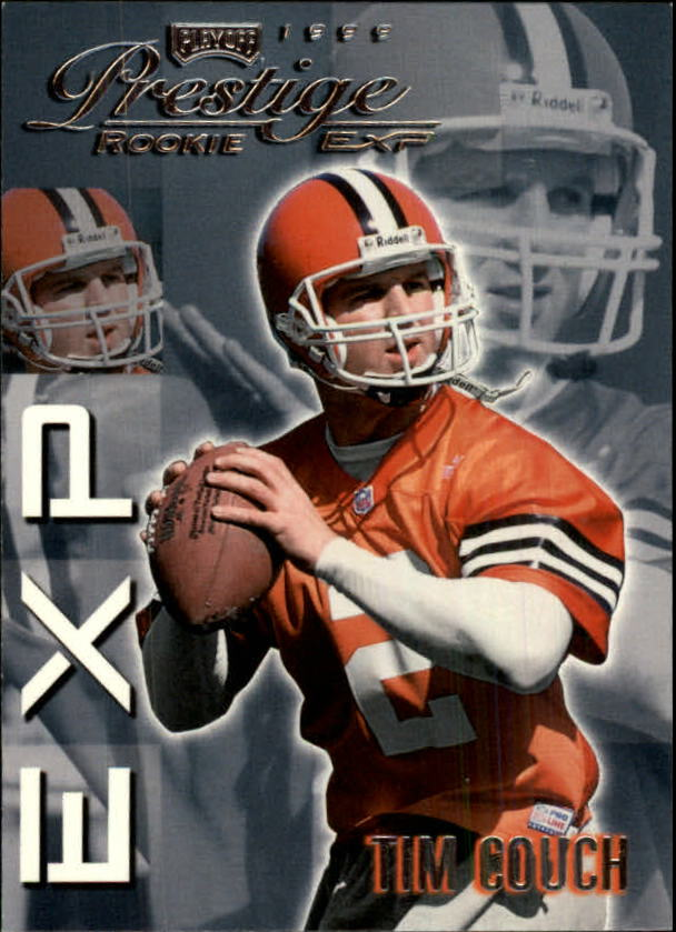 1999 Playoff Prestige EXP #40 Tim Couch RC