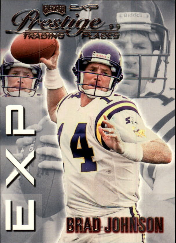 1999 Playoff Prestige EXP #57 Brad Johnson