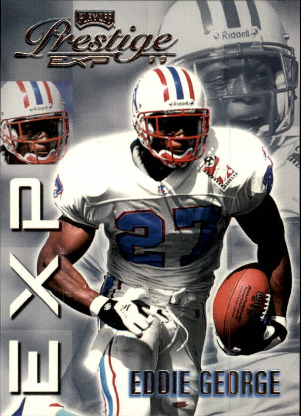 1999 Playoff Prestige EXP #69 Eddie George