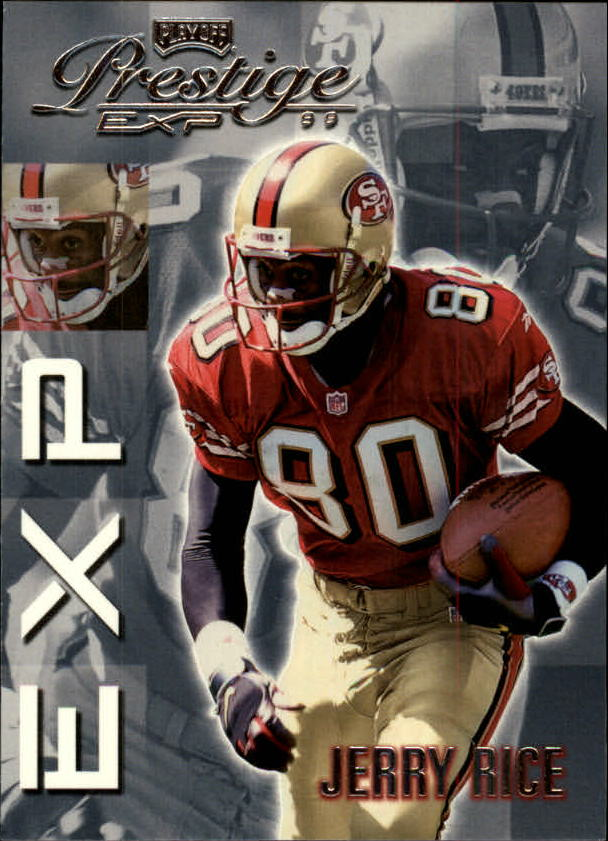 1999 Playoff Prestige EXP #89 Jerry Rice