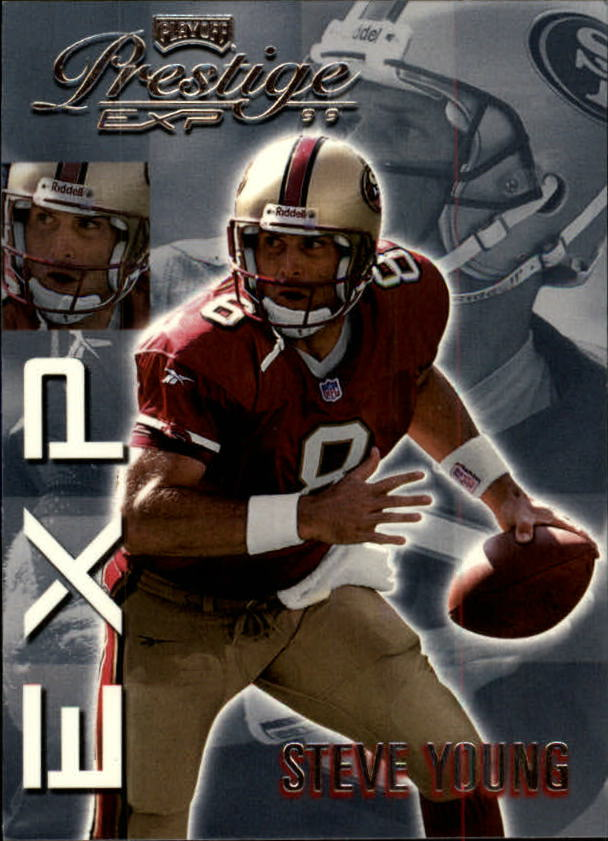 1999 Playoff Prestige EXP #91 Steve Young