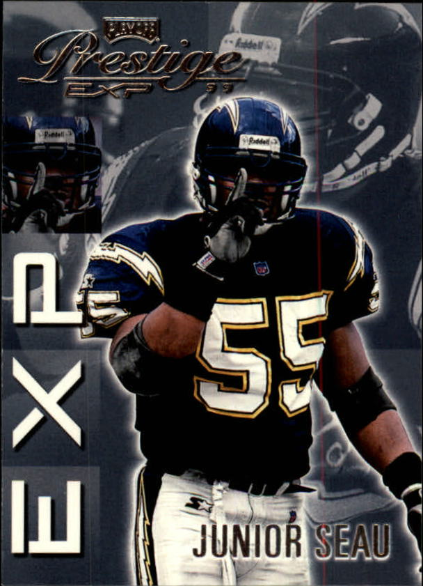 1999 Playoff Prestige EXP #92 Junior Seau