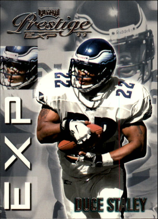 1999 Playoff Prestige EXP #102 Duce Staley