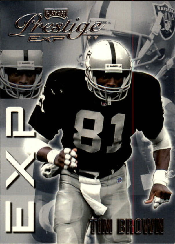 1999 Playoff Prestige EXP #106 Tim Brown