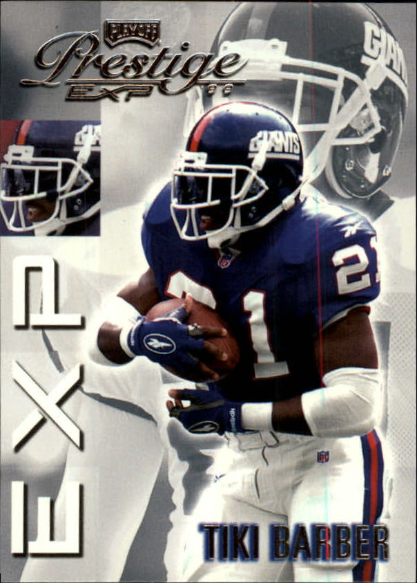 1999 Playoff Prestige EXP #113 Tiki Barber