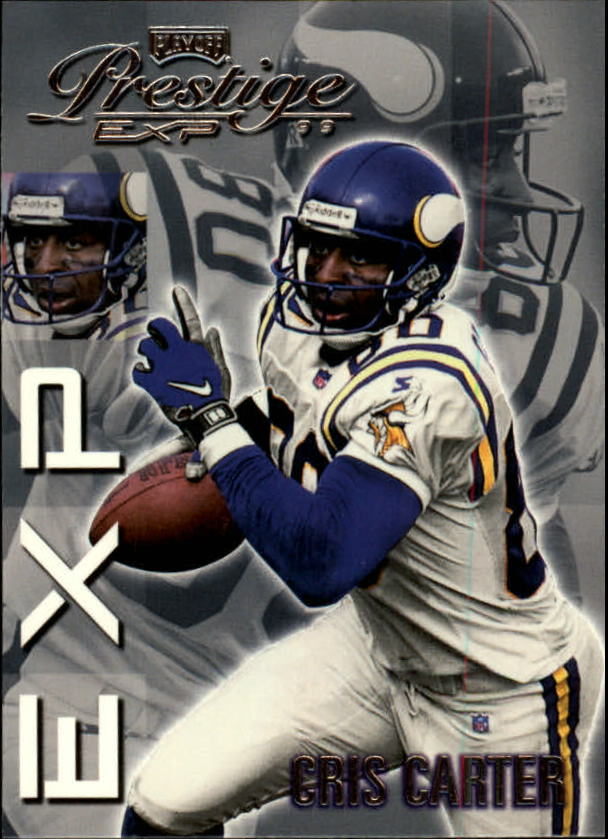 1999 Playoff Prestige EXP #128 Cris Carter