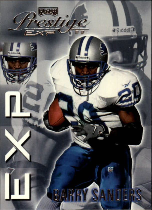 1999 Playoff Prestige EXP #156 Barry Sanders