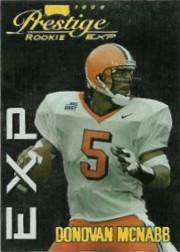 1999 Playoff Prestige EXP Reflections Gold #38 Donovan McNabb