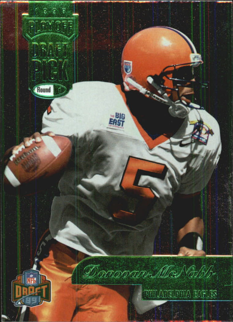 1999 Playoff Prestige EXP Draft Picks #DP3 Donovan McNabb