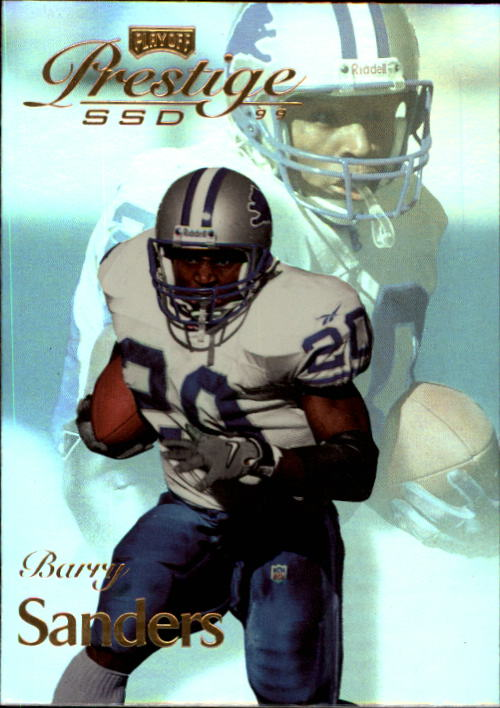 1999 Playoff Prestige SSD #45 Barry Sanders