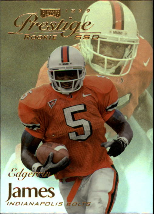 1999 Playoff Prestige SSD #164 Edgerrin James RC