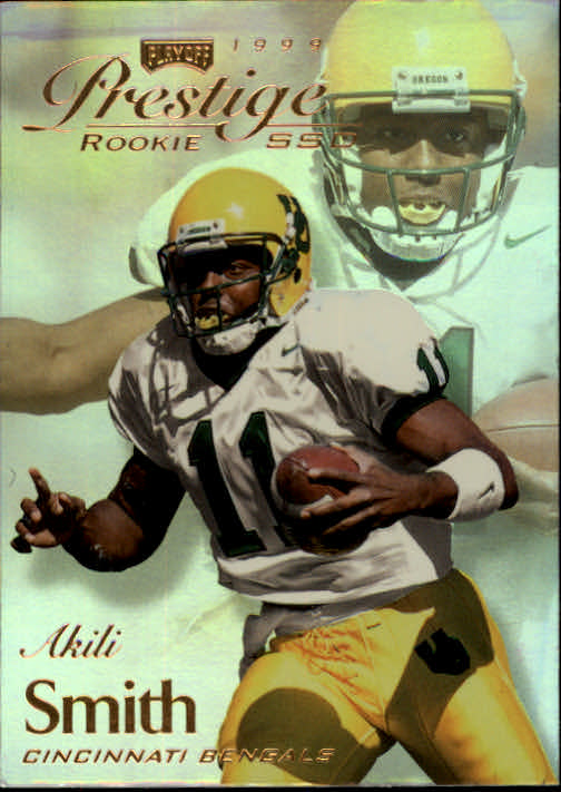 1999 Playoff Prestige SSD #169 Akili Smith RC