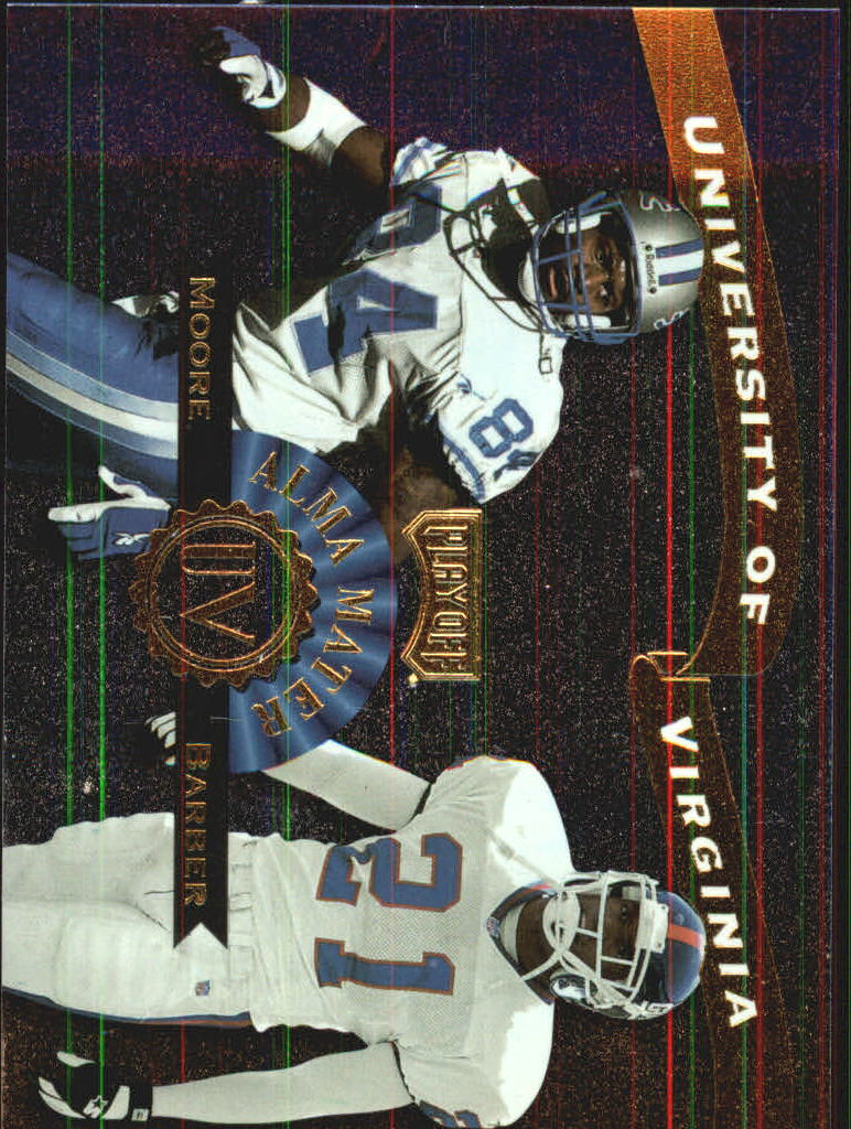 1999 Playoff Prestige SSD Alma Maters #AM17 H.Moore/T.Barber