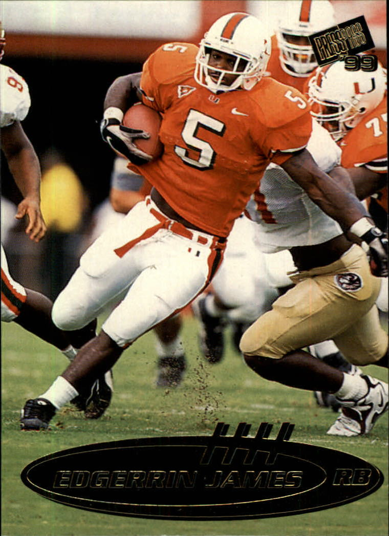 1999 Press Pass #6 Edgerrin James
