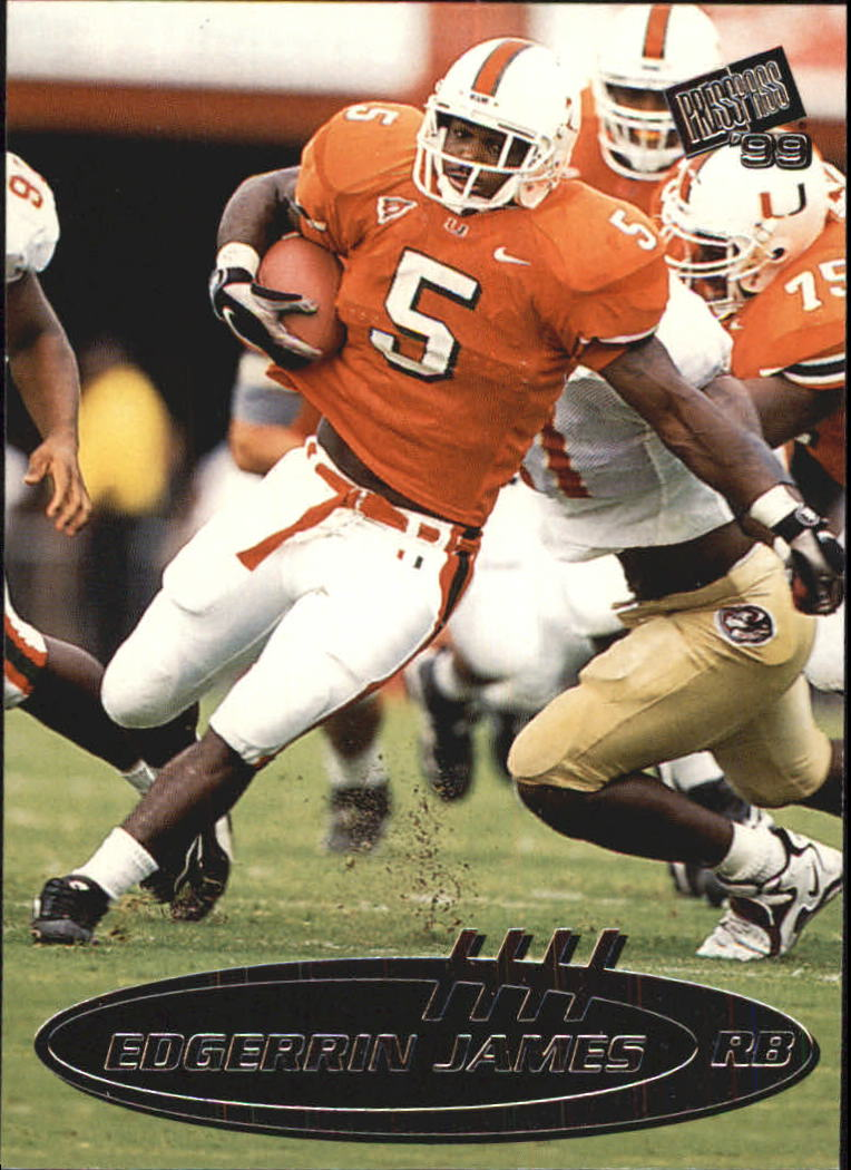 1999 Press Pass Paydirt Silver #6 Edgerrin James