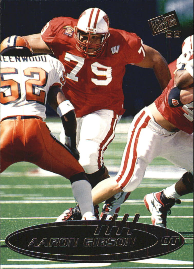 1999 Press Pass Paydirt Silver #41 Aaron Gibson