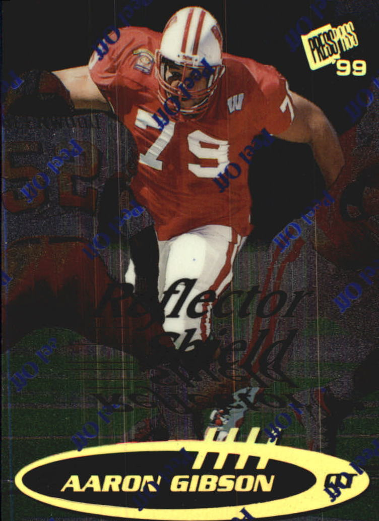 1999 Press Pass Reflectors #41 Aaron Gibson