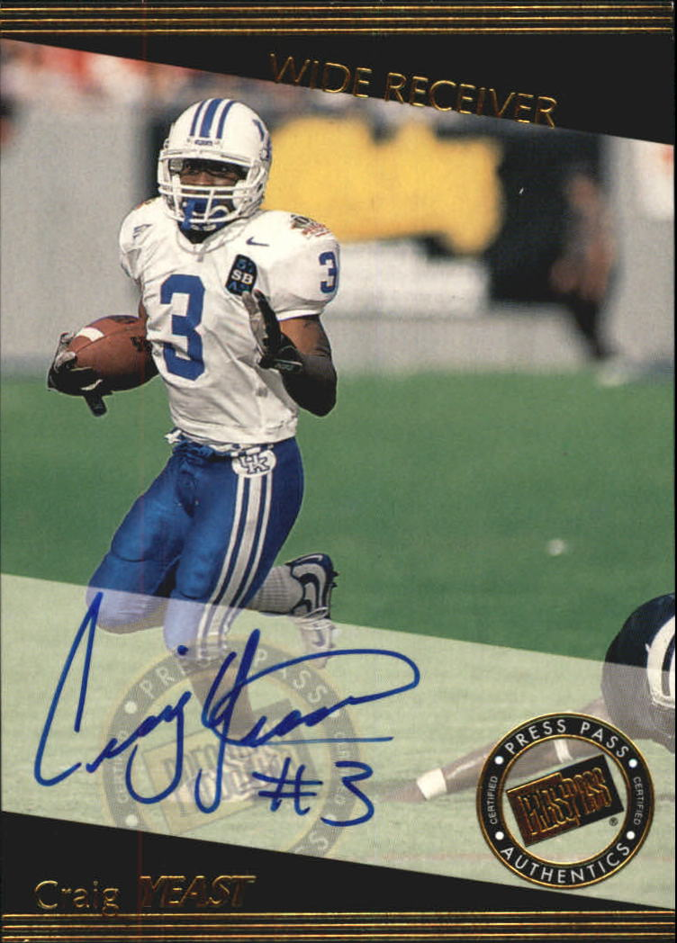 1999 Press Pass Autographs #30 Craig Yeast