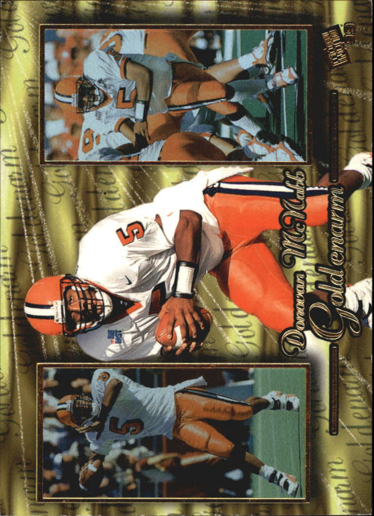 1999 Press Pass Goldenarm #GA2 Donovan McNabb