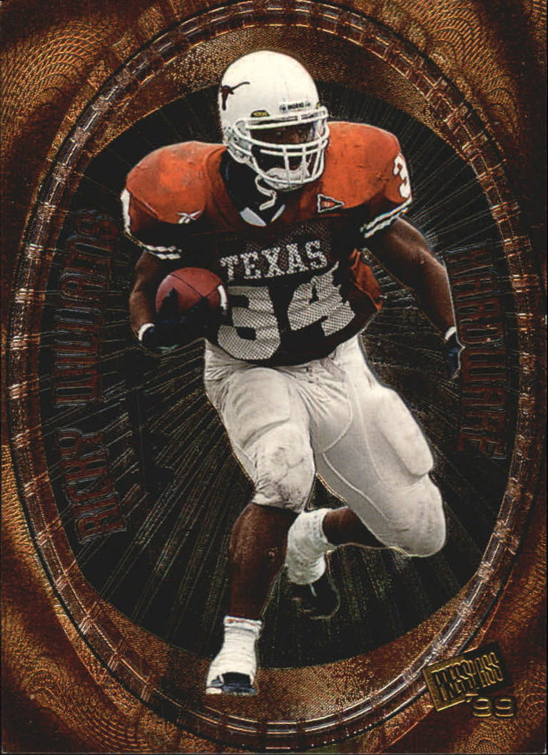 1999 Press Pass Hardware #H2 Ricky Williams