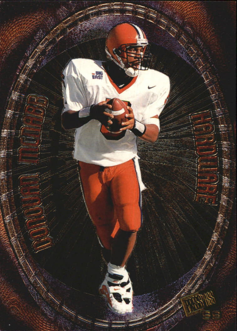 1999 Press Pass Hardware #H12 Donovan McNabb