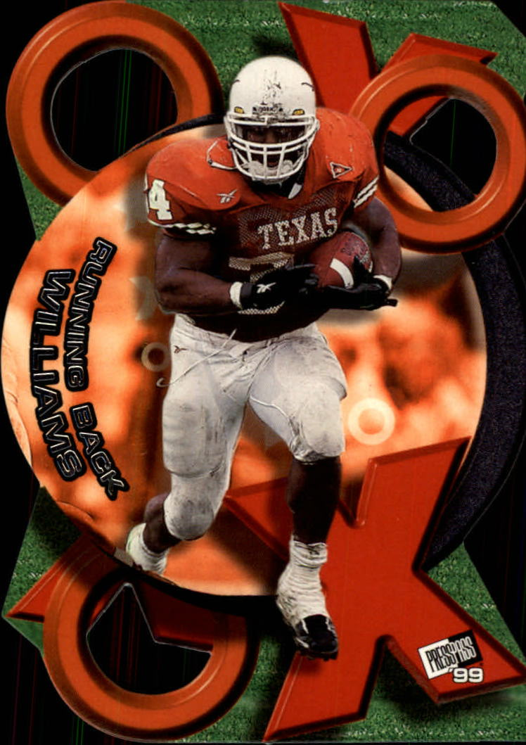 1999 Press Pass X's and O's #XO1 Ricky Williams