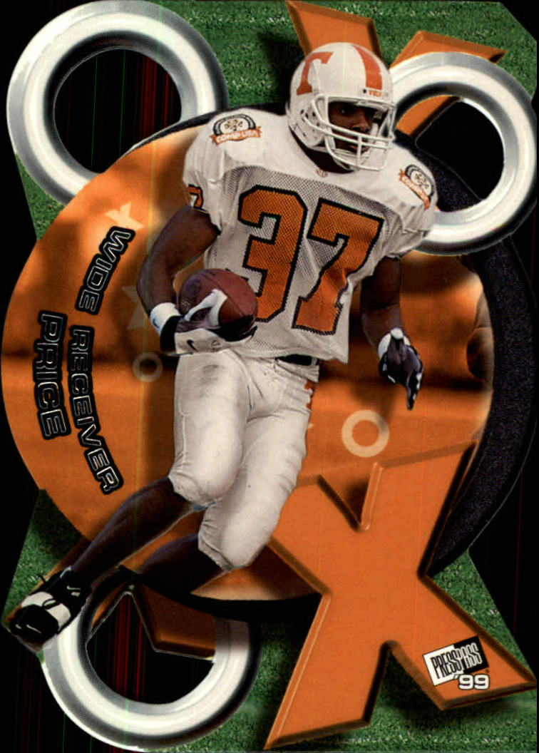1999 Press Pass X's and O's #XO12 Peerless Price