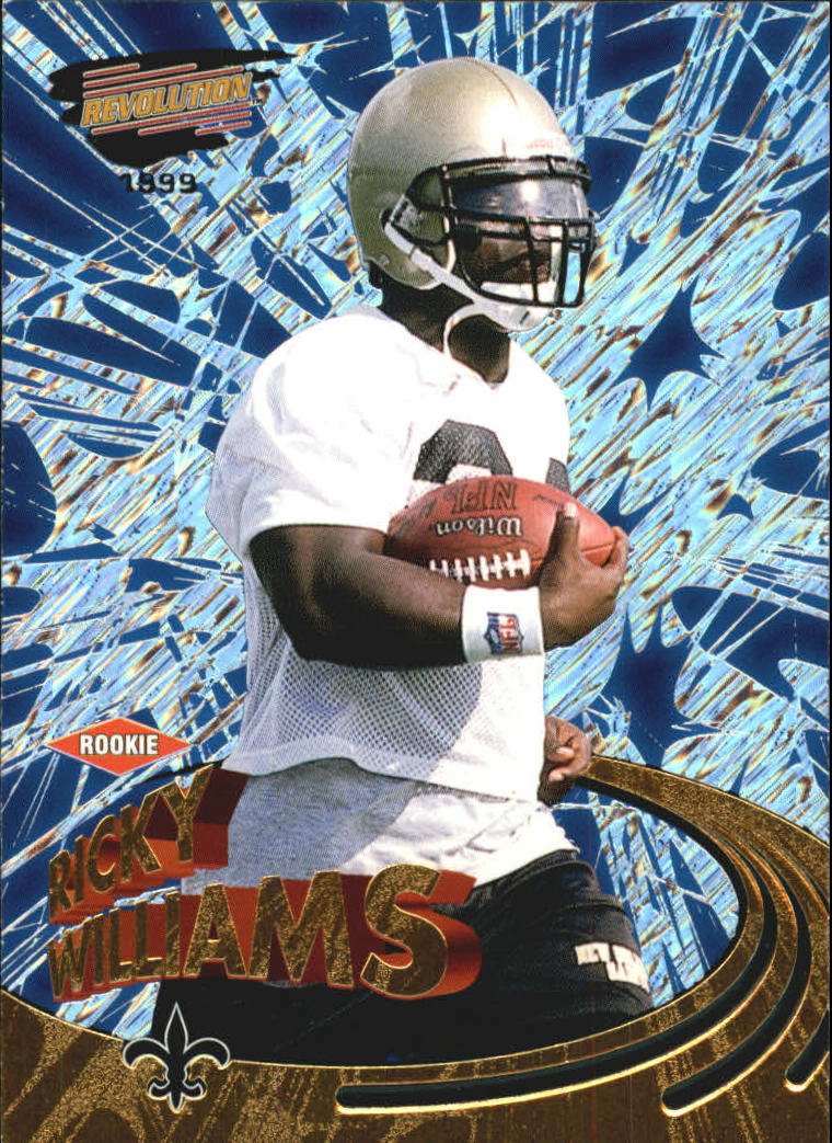 1999 Revolution #110 Ricky Williams RC