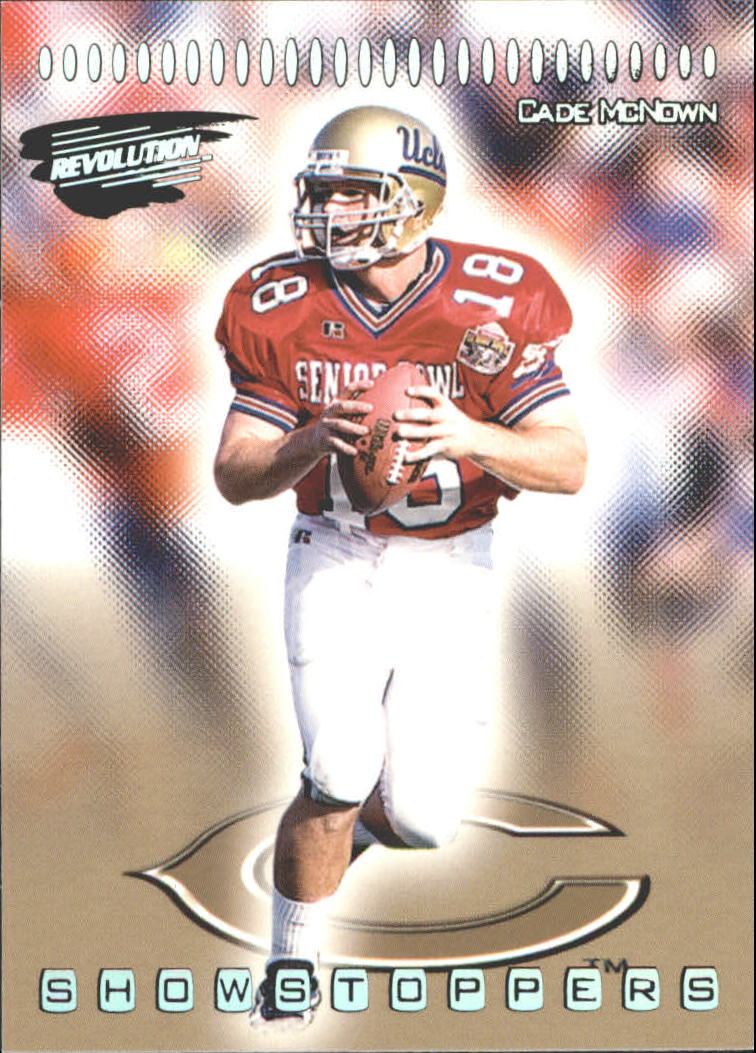 1999 Revolution Showstoppers #6 Cade McNown