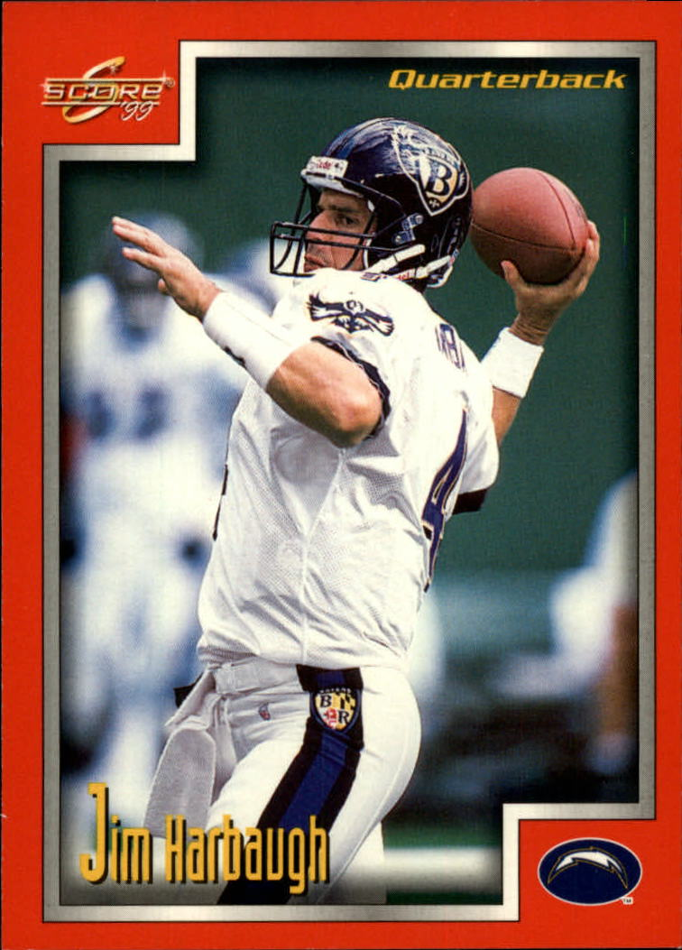 1999 Score #196 Jim Harbaugh