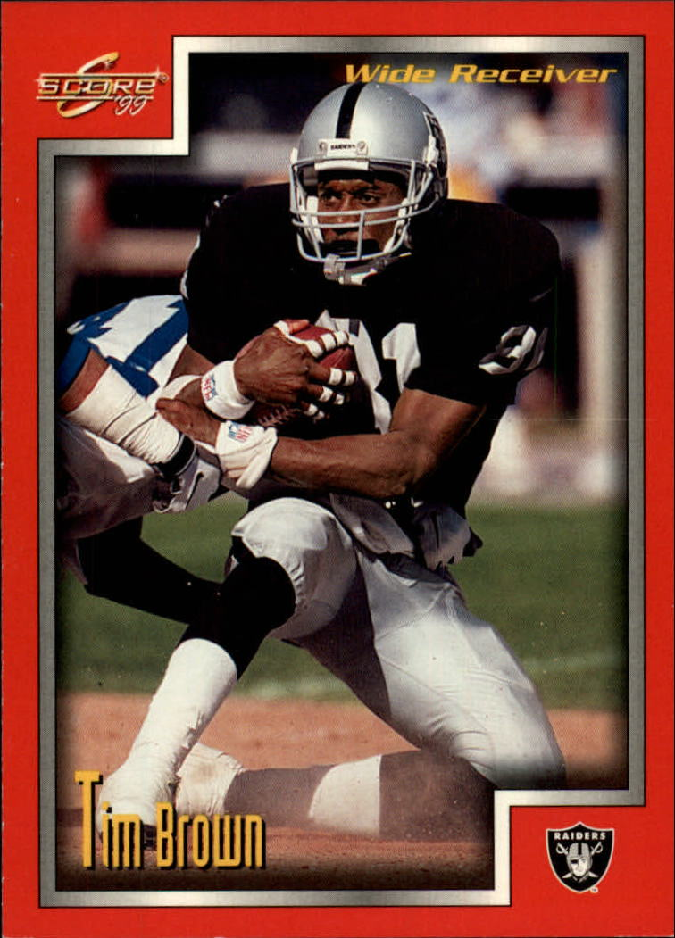 1999 Score #214 Tim Brown