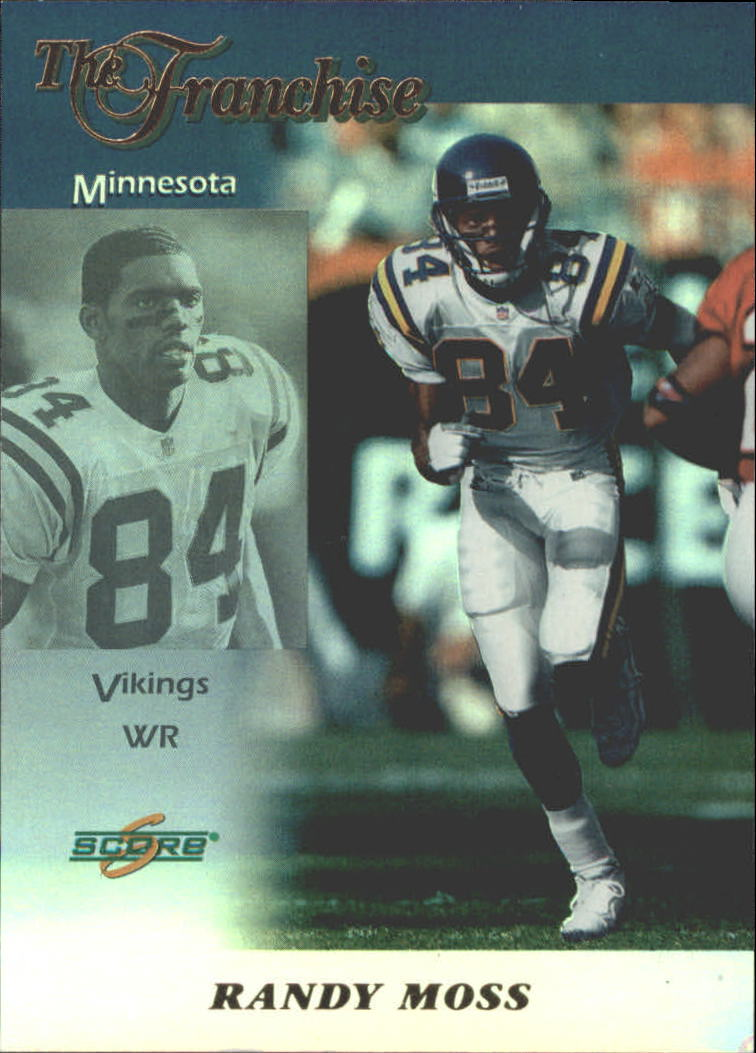 1999 Score Franchise #2 Randy Moss